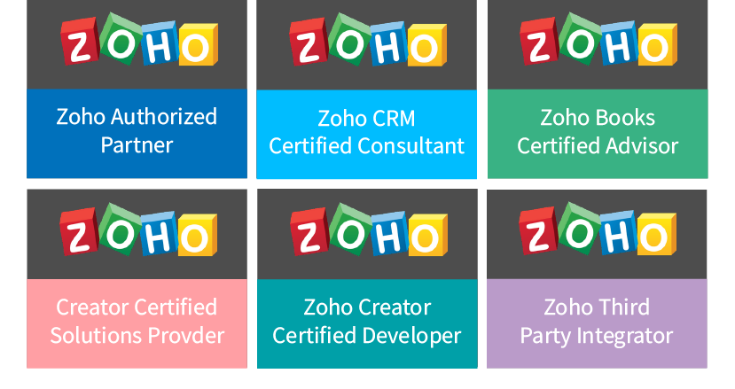 Certified by Zoho