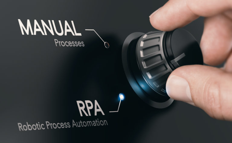 RPA, Robotic Process Automation.